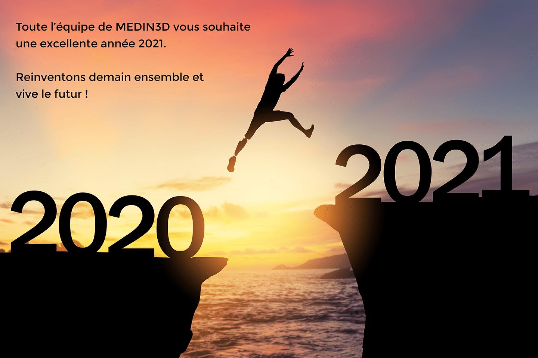 bonne année MEDin3D
